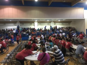 Hundreds of LPRs arrived at the workshop for free help with their citizenship applications