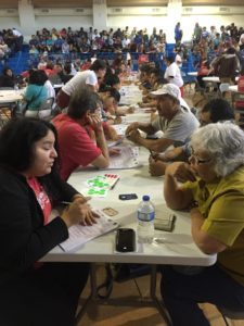 Volunteers helped aspiring new Americans complete their citizenship applications
